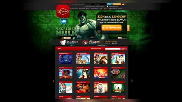 600% Deposit match bonus at Guts Casino