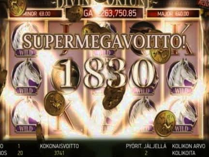 65% Deposit match bonus at Malina Casino